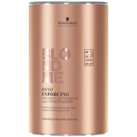 Глиняный бондинг-порошок Schwarzkopf Blondme Bond Enforcing Premium Clay Lightener 350 гр